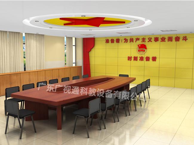 初中生白板设计_团队部室